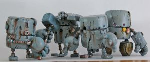 Rusty Robots S1 Groupshot by SpaceCowSmith