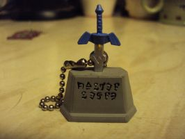 Zelda: A Link Between Worlds Keyring by DazzyDrawingN2