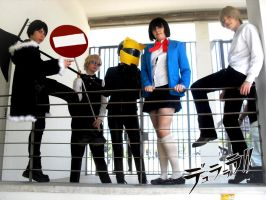Durarara cosplay Group by Smexy-Boy