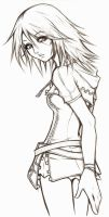 kh unfinished pose by ShadowMaster23