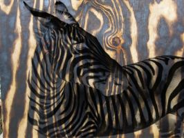 crazy wood with zebra graphic by lamelobo