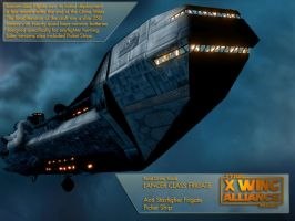 X-Wing Aliance Tech Library - Lancer Frigate by hangarbay94
