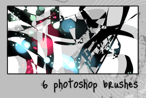 6 Photoshop Brushes by ihaveareallycoolname