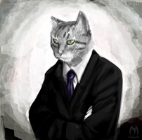 Businesscat by PotemkinBuster