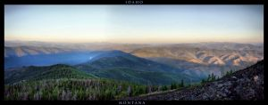 Montana and Idaho by Halcyon1990
