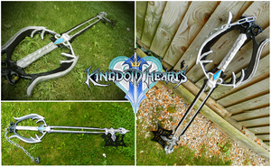 Kingdom Hearts: Oblivion Keyblade by QueenNargles