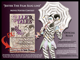 """Jester The Slug Line"" Contest by Woody-Lindsey-Film"