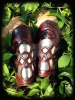 Celtic bracers by Feral-Workshop
