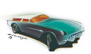 '54 Corvette Nomad by candyrod