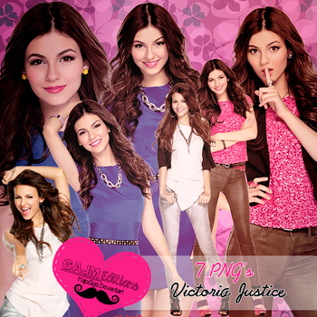 Pack PNG Victoria Justice by MajoAlgo