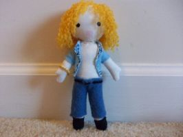 Robert Plant plushie by spastic-fantastic