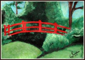 The Red Bridge by Panalicious6
