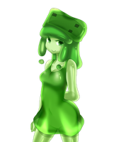 minecraft mob: medium slime (normal) by patrickwright15