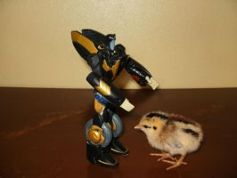Prowl and the Chick by yodana