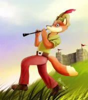 The Prancing Piper by WoadedFox