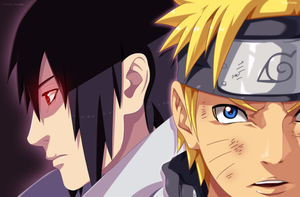 Naruto 671   Naruto And Sasuke Collab 2 by StingCunha