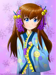 Kimono Girl Remake by Lucina-Waterbell