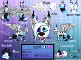 Commission: Waffles Reference Sheet by Ice-Artz