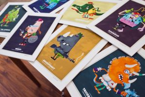 TMNT - Prints by TheBeastIsBack