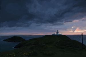 Lighthouse by KindCoffee