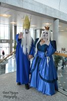Adventure Time Ice King And Queen by davidnguyen408