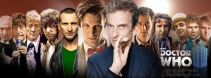 Doctor Who: The 12 Doctors by eleventhtenth