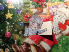 * Day 1* chibi zero - 23 days to Christmas by Etsuko-Hime