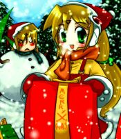 Merry Christmas EVE 2008 by Yumion