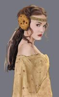 Padme with strange ear covers by NinjaKuma