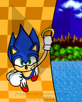 Sonic 1 - Green Hill Zone by Firestorm-CAN