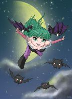 Chibi Morrigan by Irik77