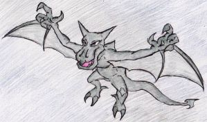 142 - Aerodactyl by JacobMace