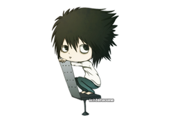 Chibi-Lawliet by Zerucune
