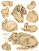 Royal Winter Fair Sketches 20X by TRAVALE