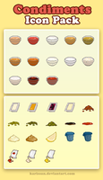 Condiments ICON PACK by Karisean