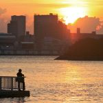 Odaiba Sunset III by kucingitem