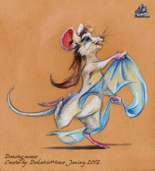 Dansing mouse by DekabristMouse