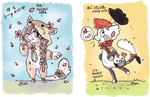 Ticket collecting:spring dress up-silly dance move by EMSl