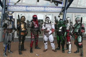 Mandalorians Invading LFCC by Benny2191