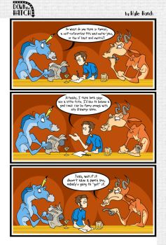 DtH: The Punchline by gloriouskyle
