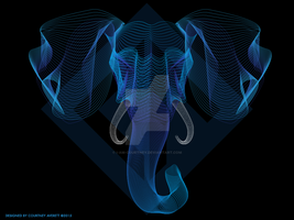 Elephant Vector by i-am-courtney