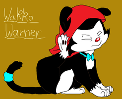 Wakko Warner as a Jackonsen by MrBig2