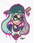 my inkling by PoneBooth