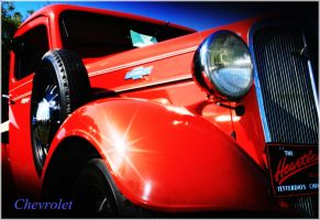 Red Chevrolet by FrancesColt