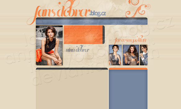 Layout: Nina Dobrev by iseayoubeach