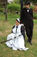 Butler and Maid on Standby by MissNellie