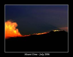 Etna at Sunset by metamorphicmind