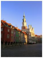 Old Market  and Town Hall by WormWoodTheStar