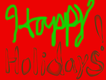Happy Holidays Sign by Douglas85
