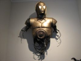 C-3PO Talking Life Size Bust (pic 1 of 2) by avonfox